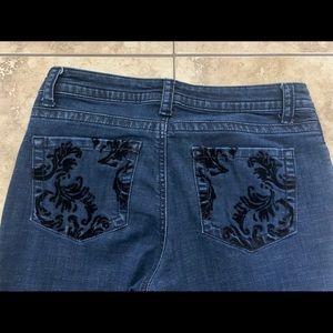 Lee Slender Secret blue jeans